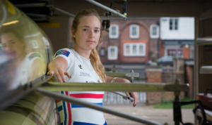 Holly Norton is part of the British Rowing Senior rowing squad