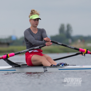 Hannah Scott of Bann Rowing Club sets out for her final at NSR