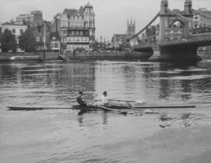 Thomas Leathes under hammersmith Bridge 1961 Harrods Rowing Club 300x232 - Thomas_Leathes-under-hammersmith-Bridge-1961_Harrods-Rowing-Club