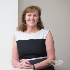 Ann Redgrave is CMO at British Rowing - image Angus Thomas Photography