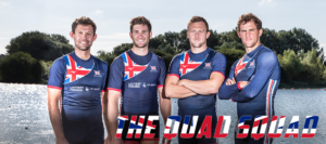 Great Britanin quadruple scull with Jack Beaumont, Jonny Walton, John Collins, Peter Lambert