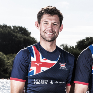 Jack Beaumont sculls for Leander Club and British Rowing