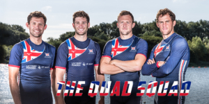 Beaumont, Walton, Collins and Lambert are the British Rowing mens quad scull for 2017