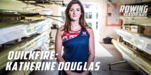 Katherine Douglas, British rower photgraphed at Leander Club, Henley by Angus Thomas for Rowing Classifieds