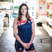 Rower Katherine Douglas at Leander Club - image by Angus Thomas for Rowing classifieds
