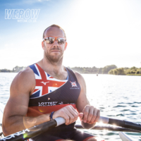 Andy Houghton represents Great Britain in the PR1 single scull