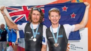 Jamoie Hunter of New Zealand Rowing retires
