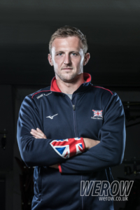 John Collins british rowers with GB and Leander Club WEROW image shot by Angus Thomas