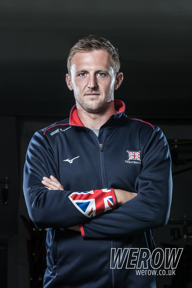 John Collins, rowers with GB and Leander Club. Image by Angus Thomas for WEROW Life