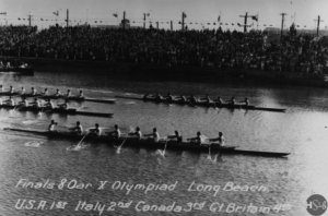 Marine Stadium which was the rowing venue for the 1932 Los Angeles Olympic Games 300x198 - Marine Stadium which was the rowing venue for the 1932 Los Angeles Olympic Games