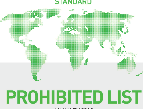 World Anti-Doping Agency updates Prohibited list
