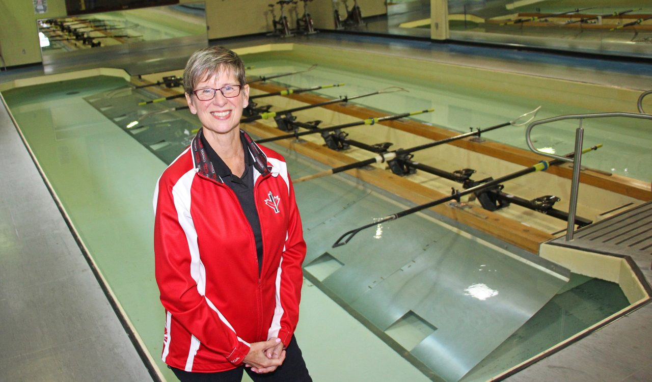 Carol Brock president of Rowing Canada