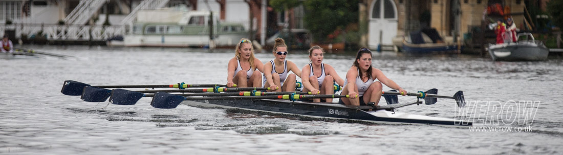 WJ 15 4x+ winners, Riley Butcher, Della Luke, Holly Tallent, Poppy Wilson, cox Chloe Beeton.