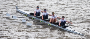 Henley Rowing Club JW4x win the Fullers Head of the River Fours