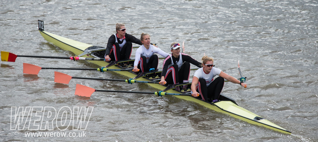 Leander Women win the Fullers Head of the River Fours