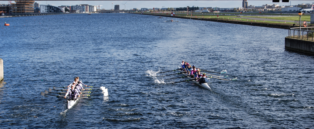 Poplar and Blackwall District Rowing Club Docklands Head 2017 on WEROW