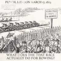 What does the Boat race actually do for the sport of rowing in the UK?