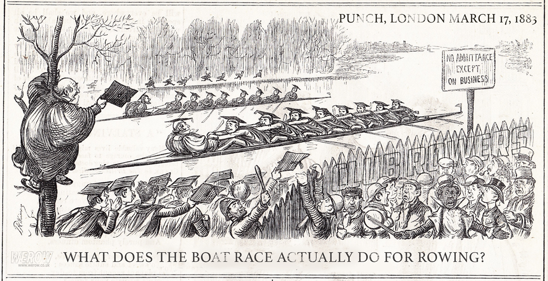 What does the Boat Race actually do for rowing?