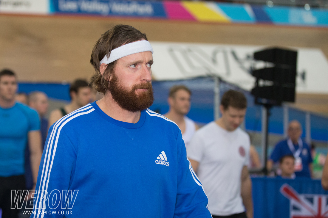 Bradley Wiggins arrives at BRIC17
