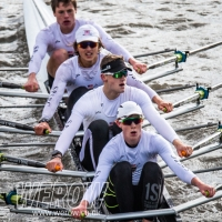 Calvin Tarczy of St Pauls Boat Club wins scullers head WEROW rowing uk