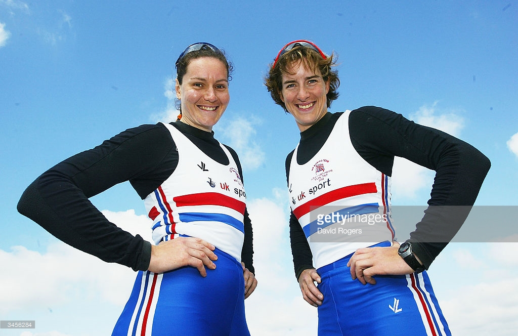 Cath Bishop and Katherine Grainger