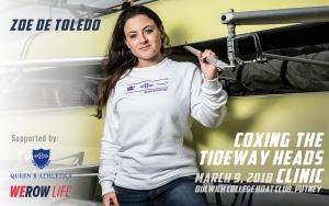 Coxing the Tideway Heads with Zoe de Toledo