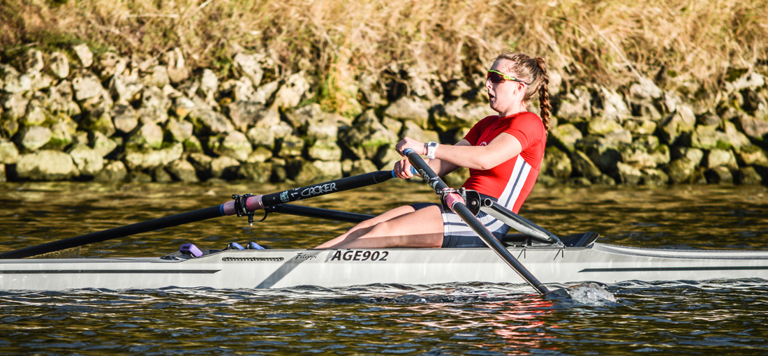 Georgina Dooley of Agecroft at Scullers Head 2017