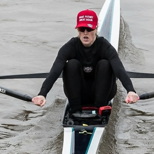 Meghann Jackson of London Rowing Club at Scullers Head WEROW