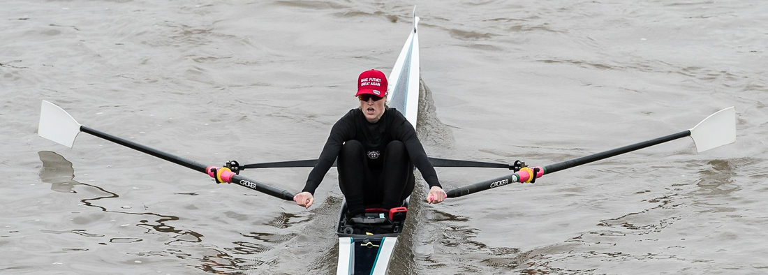 Meghann Jackson of London Rowing Club at Scullers Head