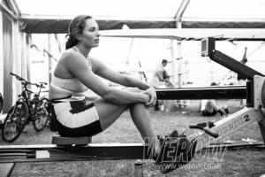 Hannah Osborne of Rowing New Zealand at Henley Royal Regatta