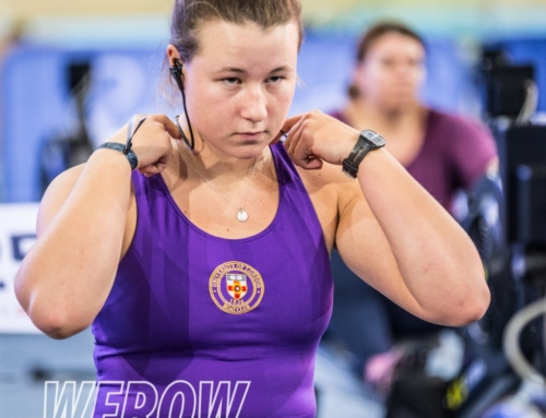 Sarah Gibbs: Getting ready for the British Rowing Indoor Championships