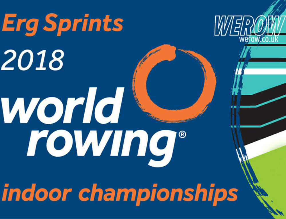 The first World Rowing Indoor Championships announced