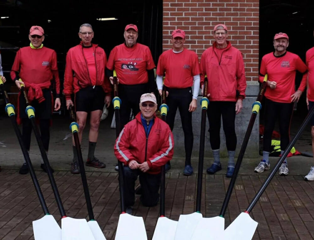Sunrise rowers teach us that team spirit is ageless