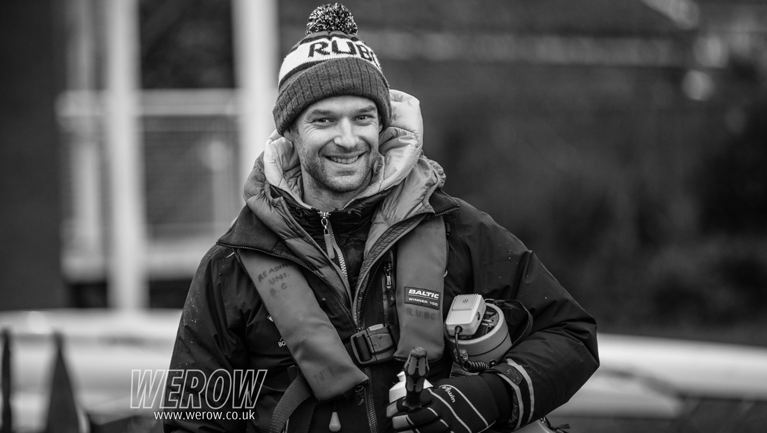 Chris Bartley photographed at Reading University Boat Club by Angus Thomas for WEROW