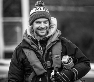 Chris Bartley, world champion rower photographed by Angus Thomas