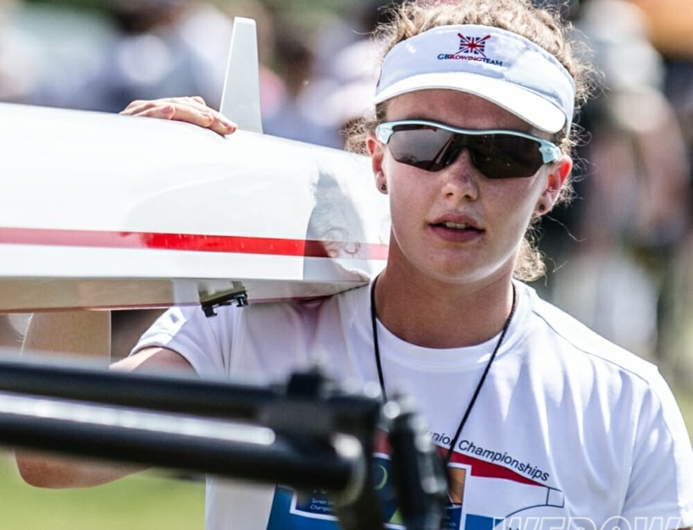 Lucy Glover: British Rowing's most promising young female rower