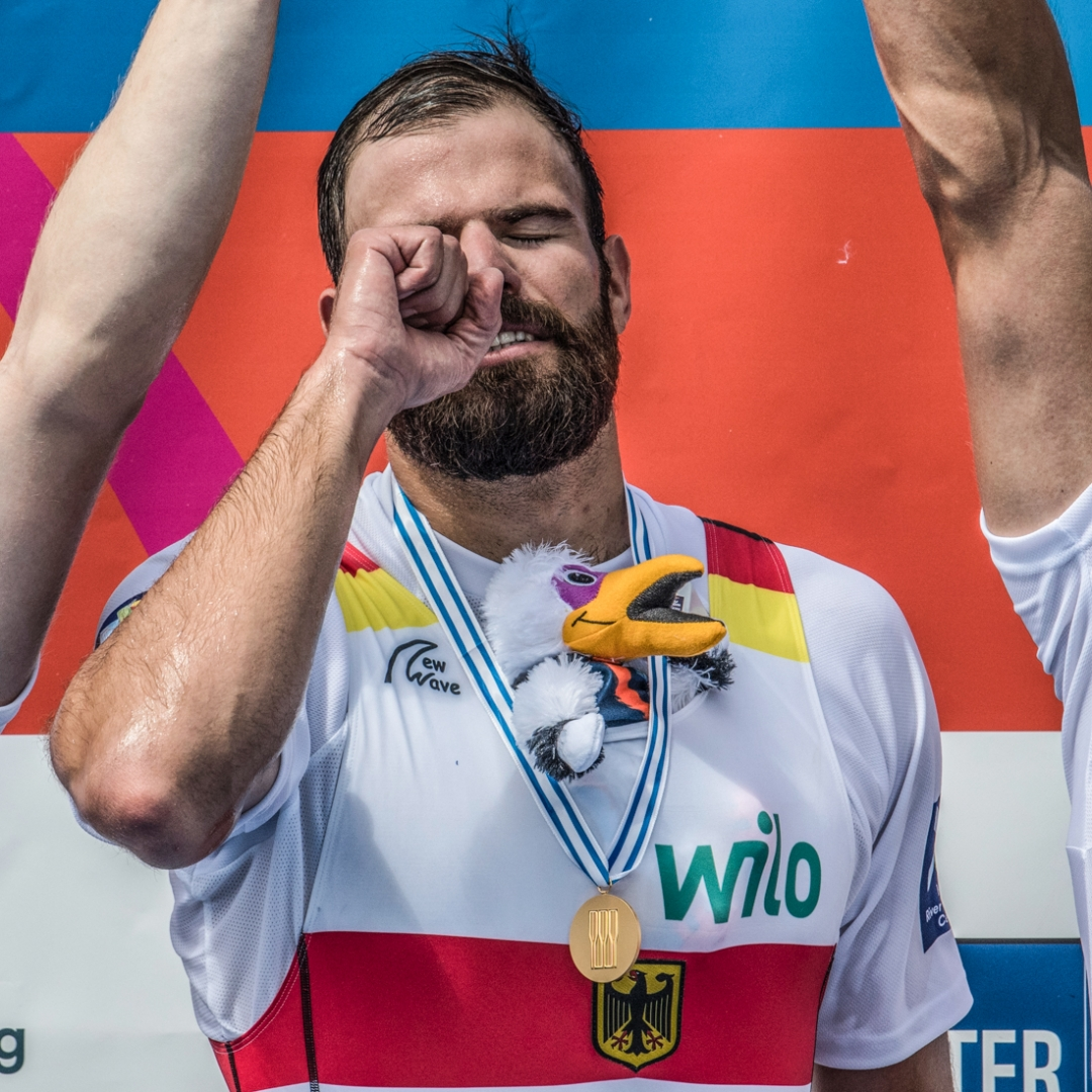 Max Planer at the World Rowing Championships 2017 Image: Steve McArthur