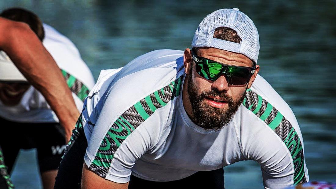 Max Planer of Deutschland Achter at World Rowing Championships 2017