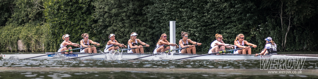 Molesey Rowing Club winning at Henley Women's Regatta ni 2017