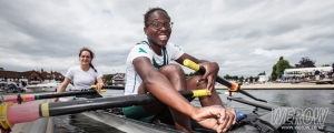 Isable Lingard and Oluwaseun Olusanya at Henley Royal Regatta Qualifiers