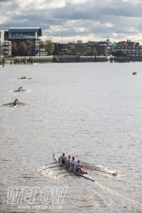 Racing on the Tideway - Head of the River Fours 2017