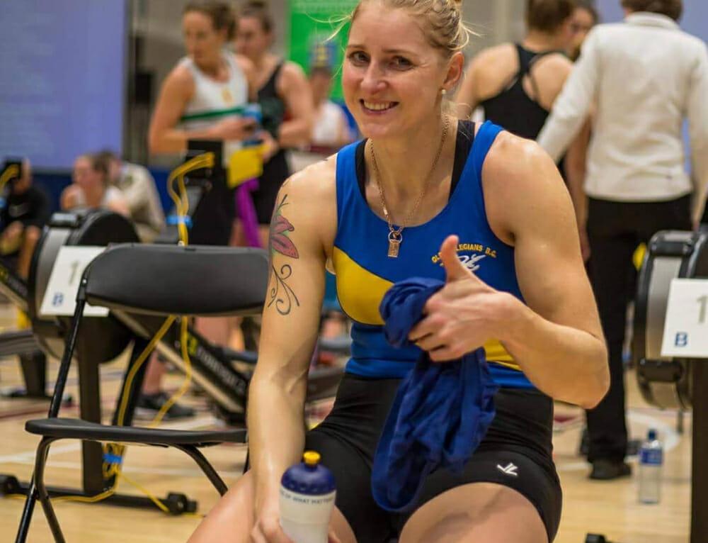 Sanita Puspure: looking ahead after Irish Indoor Rowing Championships win