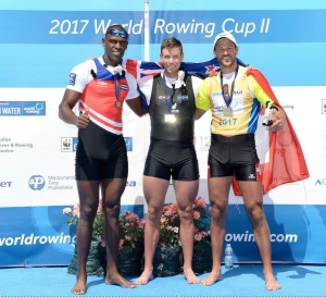 Robbie Manson takes the sculling world cup II