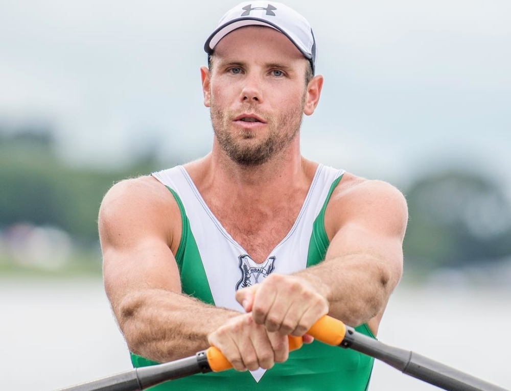 Double gold for Robbie Manson at New Zealand Rowing Championships