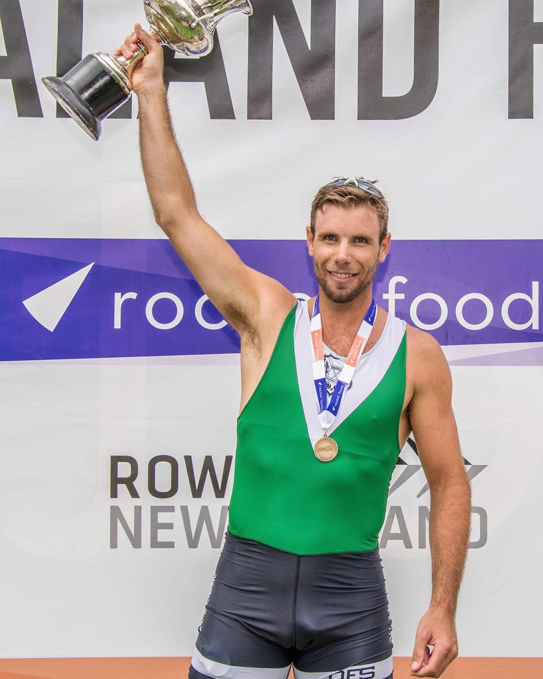 Robbie Manson wins at New Zealand Rowing Championships