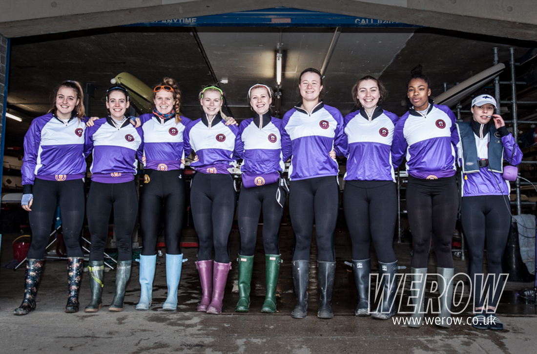 UL second women's crew against Oxford University