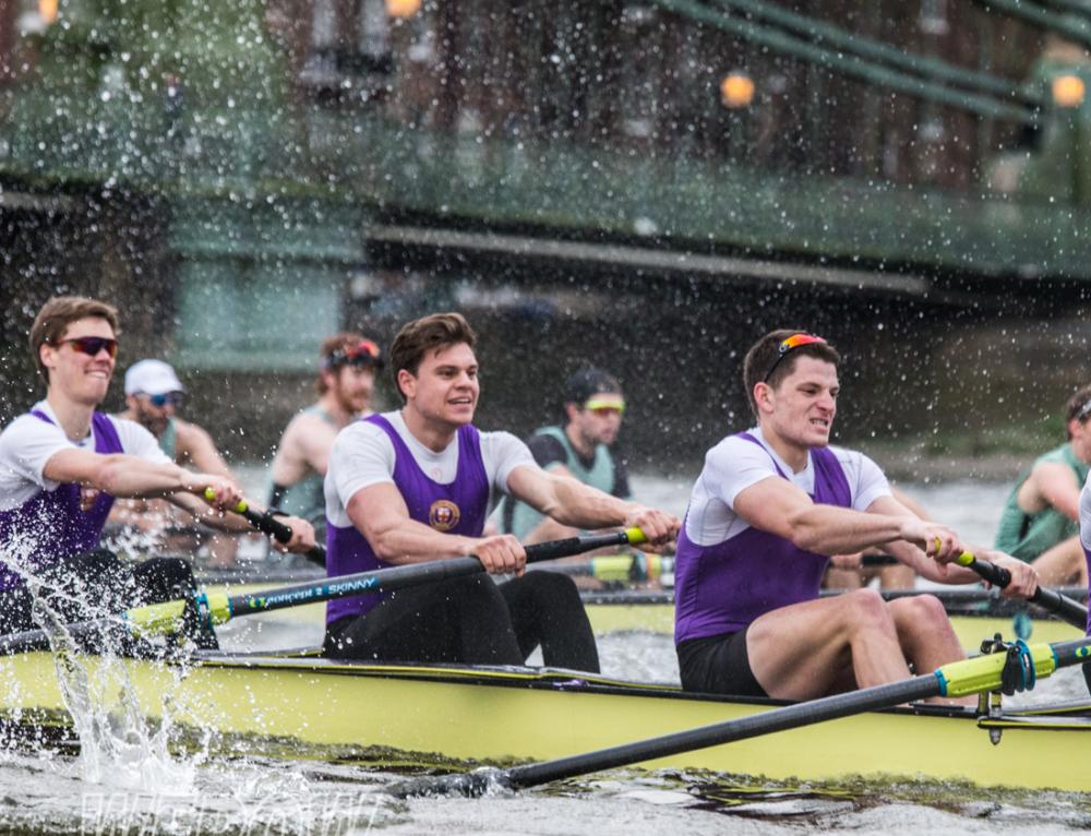 The University of London v Cambridge University Boat Race Match