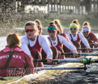 WEROW Brookes rowing 9786 1 - Brookes women's eight acquit themselves well in Oxford derby Boat Race match