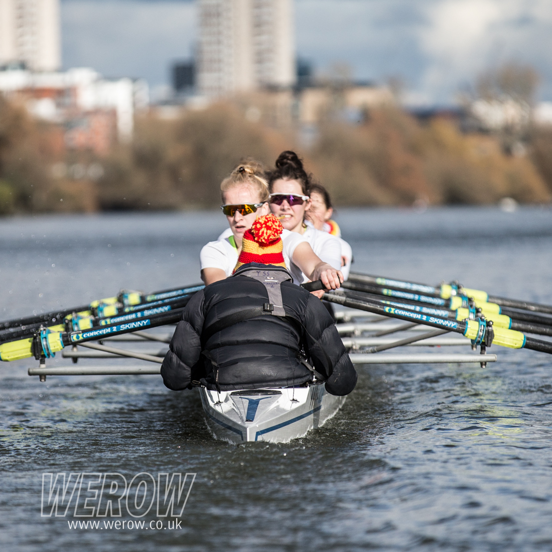 WEROW Tideway Scullers School 2742 1 - The Tideways Scullers women's squad seat racing for WEHORR 2018 video & images