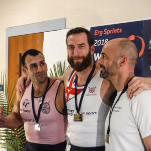 Graham Benton at the World Indoor Rowing Championships 2018